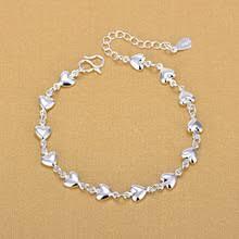 <b>Женский браслет в</b> виде сердца, из серебра 925 пробы ...