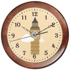 <b>Часы круглые из</b> дерева Big Ben #456205 от Meza