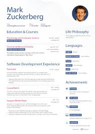 breakupus picturesque infographic resume fair resume for a like business insider divine mark zuckerberg pretend resume first page and fascinating resume for mcdonalds also resume samples for administrative