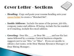 How to Meet Minimum Job Requirements in a Cover Letter   Chron com Sample Cover Letters Recruiter Musings