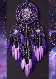 """Купить <b>Ловец</b> снов мобиль """"Млечный Путь violet"""" - космос, <b>ловец</b> ..."""