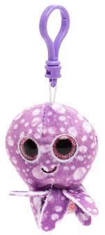 <b>Брелок</b>-<b>игрушка TY</b> Beanie Boo's Осьминог Legs фиолетовый ...