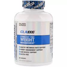EVLution Nutrition <b>CLA 1000 Stimulant Free</b> Weight Management ...