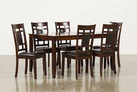 seven piece dining set: janelle  piece dining set main