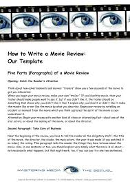 how to write a movie essay essay on movie comparison essay sample