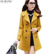 2018 <b>New Women Autumn</b> Winter <b>Outerwear</b> Wool Blend Warm ...