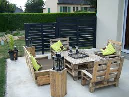 patio furniture from pallets. perfect diy pallet patio furniture painted terrace how to organize a with pallets intended decor from