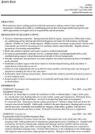 automotive sales resumes   zimku resume   the appetizer auto s resume example
