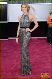 Heidi Klum. Elton John Oscars Party. Julien MacDonald dress and.