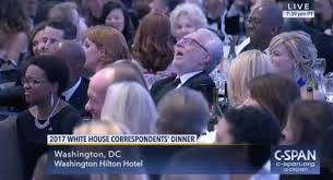 Image result for 2017 white house correspondent dinner pics