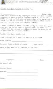 everything computerwise inc credit card authorization form to back cod co check as security form