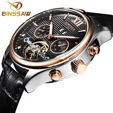<b>BINSSAW New Men Automatic</b> Mechanical Watch Is The Tourbillon ...