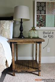bedrooms diy simple square bedside table plans bedroom furniture building plans nifty diy