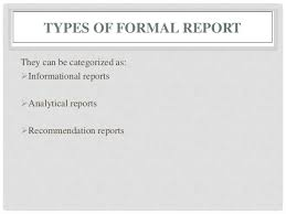 REPORT WRITING TYPES  FORMAT  STRUCTURE AND RELEVANCE TYPES
