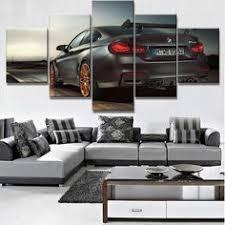 New <b>5</b> Piece <b>HD Print Large</b> Dodge Viper Wall Art   Automotive Art ...