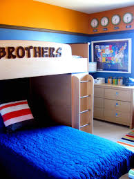 wonderful blue brown wood unique design small boys room paint ideas blue cover bed cushion wood blue themed boy kids bedroom