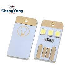 ShengYang <b>1pcs</b> Mini <b>super bright</b> USB keyboard light notebook ...