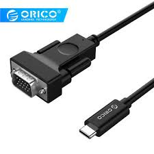 <b>ORICO</b> Cable Adapter <b>Type</b>-<b>C</b> to HDMI HD VGA DVI Adapter Cable ...