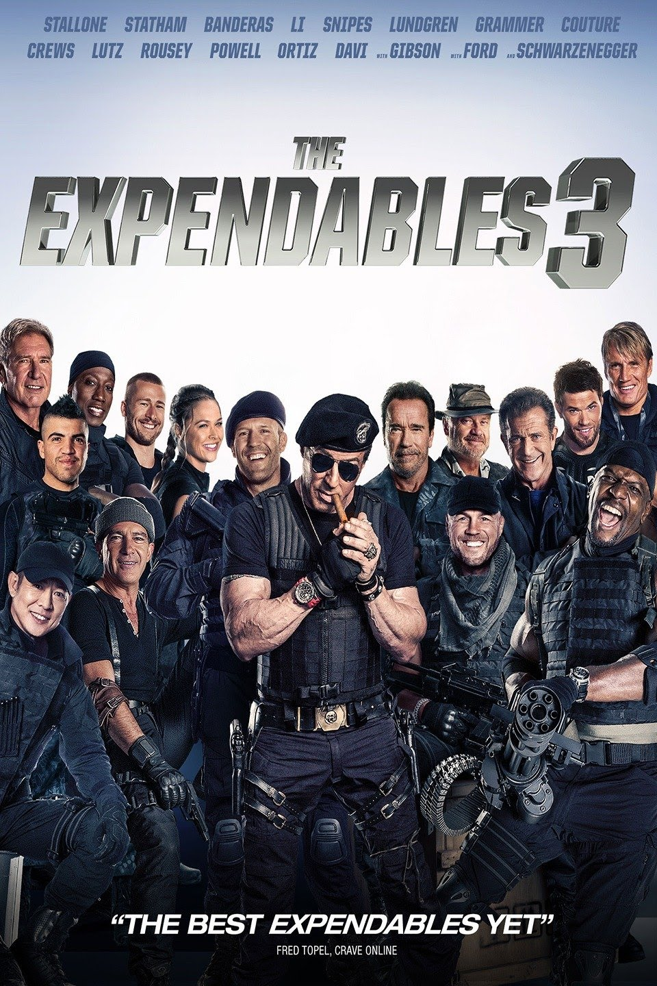 The Expendables 3 (2014) Dual Audio {Hindi-English} 480p [300MB] || 720p