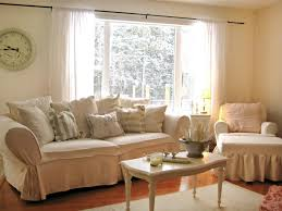 cottage inspiration chic living room curtain