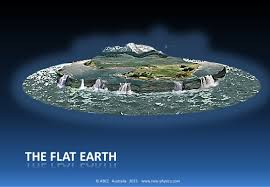 Image result for images for a flat earth