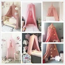 Pink Room Princess <b>Girls Kids Baby Bed</b> Canopy Castle Fairy Net ...
