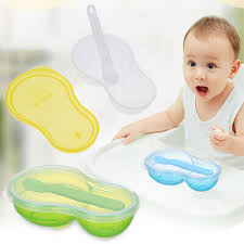 Baby Infant Learn Dishes Grinding Bowl Kids <b>DIY Handmade</b> ...