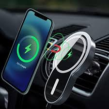 Magnetic Wireless Car Charger,LUKKAHH Aluminum ... - Amazon.com