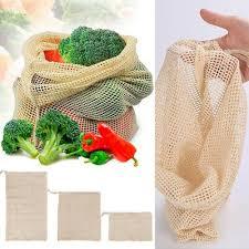 Portable Storage Grocery Mesh Shopping <b>Bag</b> Vegetable <b>Fruit Bags</b> ...