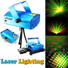 Mini <b>Laser</b> Projector Light DJ Voice-active <b>Laser</b> Stage Lighting ...