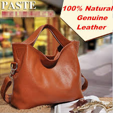 Luxury <b>100</b>% Guarantee Natural <b>Genuine leather women</b> handbag ...