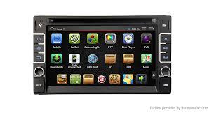 "DJ7088 Universal <b>7</b>"" Windows CE 6.0 <b>1</b>-<b>Din Car</b> DVD Player GPS ..."