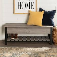 Entryway <b>Benches</b> & Trunks - Entryway Furniture - The Home Depot