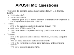 apush free response essay questions   essay  parts of the apush test multiple choice questions  distracters