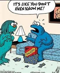 Cookie monster - disillusioned #meme www.cpcommunications.com.au ... via Relatably.com