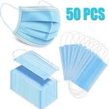 10/50/100PCS 3-Ply Disposable Face Mask Profession ... - Vova