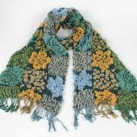 Knitted Flower <b>Scarf</b> Canada