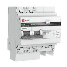 Дифференциальный <b>автоматический выключатель EKF PROxima</b>
