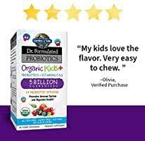 Garden of Life <b>Dr</b>. <b>Formulated Probiotics</b> for Kids, <b>Organic</b> Kids