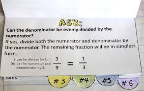 Simplifying Fractions Worksheet and TemplateSimplifying Fractions Notebook Template Printable and Worksheet