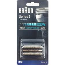 Braun <b>21B</b> Series 3 Black Cassette <b>Foil</b> & <b>Cutter</b> Pack - <b>Shavers</b> (UK)