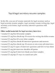 resume for legal secretary  seangarrette cotop  legal secretary resume samples    resume for legal secretary sample
