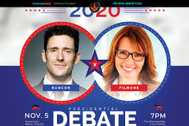 political debate flyer template flyer templates on creative market