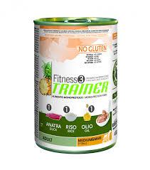 <b>Консервы Trainer Fitness 3 No</b> Gluten Adult Medium/Maxi Duck ...