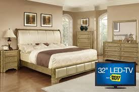 golden 5 piece queen bedroom set with 32 led tv bedroom queen sets kids twin