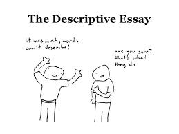 writing a descriptive essay about a place government contractor    descriptive essay outline examples