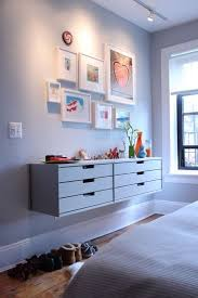 wall mounted or floating furniture adds some wow factor apartment therapy apartment therapy furniture