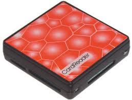Картридер <b>USB 2.0 Konoos</b> UK-15, 5 разъема для карт памяти ...