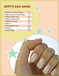 marketing flyer templates in word for any business nail salon flyer prices