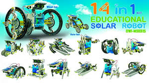 14 in 1 Educational Solar Robot Diy Kit - Супер конструктор ...
